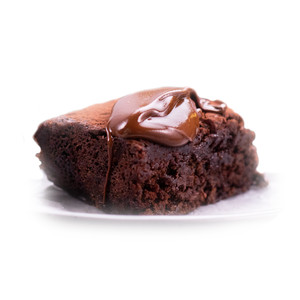 Gluten Free Chocolate Fudge Brownie
