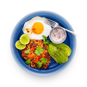 Spicy Mexican Rice Eggs
