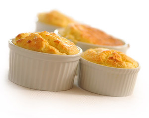 Blue Cheese Soufflé