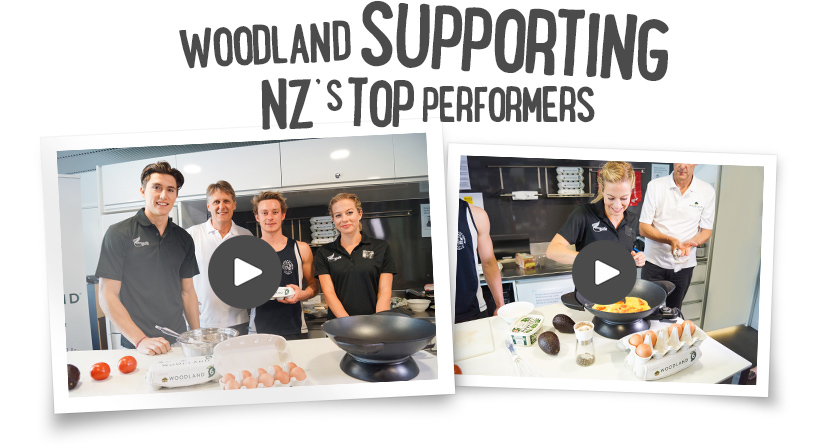 Woddland supporting NZ's top performers
